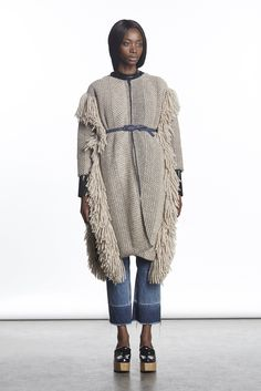 Pin for Later: The Top Fall 2015 Trends From New York Fashion Week Rachel Comey Fall 2015 Knitwear Fashion, Knit Fashion, Fashion Show, Fashion Design, Fashion Week 2015, Fall Fashion Trends, Autumn Fashion, Rachel Comey, Fall 2015 Trends