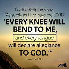 Romans 14:11