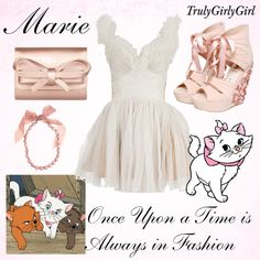 Disney Style: Marie, created by trulygirlygirl on Polyvore