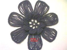 Dei Sexton's media content and analytics Diy Crochet Flowers, Love Crochet, Irish Crochet, Crochet Baby, Knit Crochet, Crochet Chart, Crochet Motif, Lace Patterns, Crochet Patterns