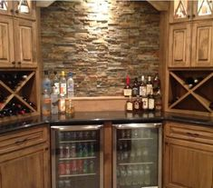 Stack Stone Bar. Basement ...