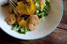 Recipe for shrimp salad with a spicy pineapple dressing - Food & dining - The Boston Globe