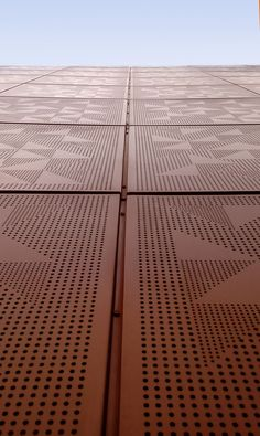 Good Restaurante Porfirios Personalized Solid Aluminum Cassette Panel By Basica  · Perforated MetalMetal MeshEvergreenFacadesScreensTexture Design
