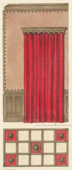 Plate number: L. 45 Pl. 125 Type: Floor Plans  : Interior Elevations  Style: Troubadour  Enlarge Image