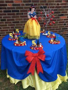 Enchanted Snow White Theme Birthday Party Ideas | Photo 1 of 13