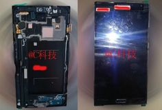 Now a new photo of a Samsung GALAXY Note 3 prototype has appeared, this Samsung GALAXY Note 3 photo shows the innards of the upcoming model