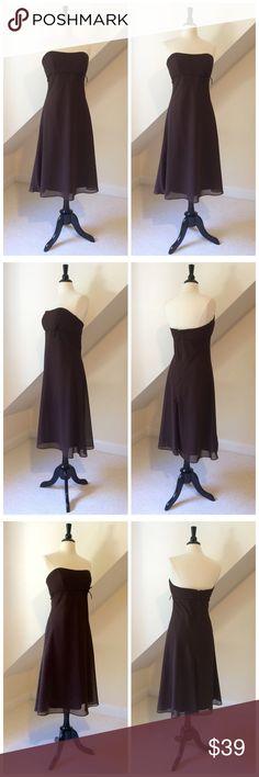 Espresso Chiffon Dresses