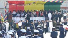 Bolivia inauguró Escuela militar antiimperialista junto con Venezuela y…