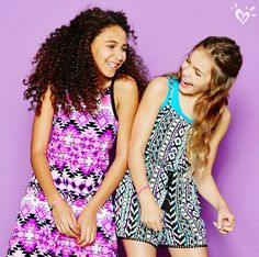 Make your style standout with dresses in fresh prints and silhouettes, and our favorite one-piece wonders... rompers!