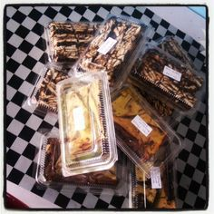 Kek batik & Choc Cheese Brownies
