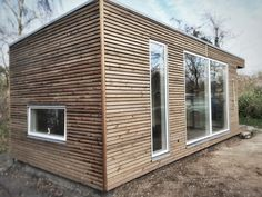 Anneks - thermowood facade