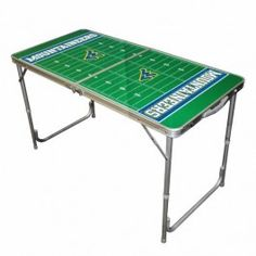 West Virginia WVU Mountaineers Mini 4ft Ping/Water/Root Beer/Party Pong Tailgate Table Game
