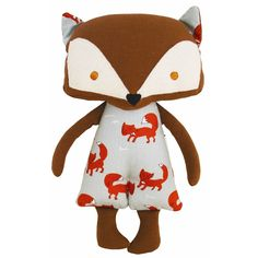 Well hello there Mr Fox! Divine woodland fox doll by Alimrose Designs - super soft and perfect for cuddles! Little Boo-Teek - Alimrose Dolls Online Pet Toys, Baby Toys, Kids Toys, Range Pyjama, Messy Room, Baby Shop Online, Fox Design, Bitty Baby, Newborn Baby Gifts