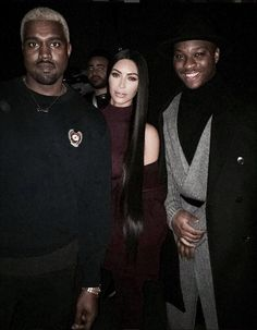 GOTCHA: One fan managed to get a photo of both Kim and Kanye after the show
