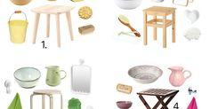 Montessori vanities, 4 different ways.