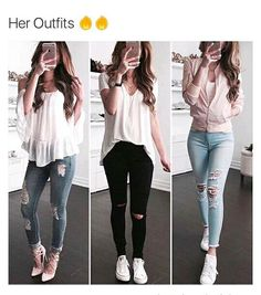 Clothes For Teens Classy Casual Ideas For 2019 Teenage Outfits, Teen Fashion Outfits, Cute Fashion, Look Fashion, Outfits For Teens, Girl Fashion, Girl Outfits, Cute Casual Outfits, Swag Outfits