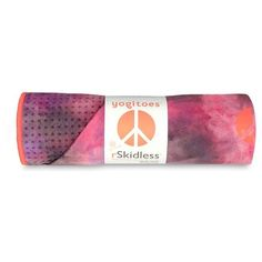 YOGITOES 'Groovy' Skidless Yoga Mat Towel found on Polyvore