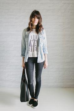 OUTFIT DEL DÍA: Informal outfit - Look informal con camisa de lona