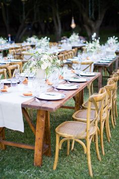 Photography: Nancy Neil Photography - nancyneil.com  Read More: http://www.stylemepretty.com/2014/09/26/understated-elegance-at-malibus-saddlerock-ranch/