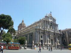 Piazza Duomo nel Catania, Sicilia