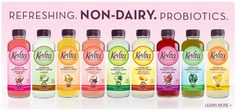 KeVita | Refreshing Organic, Non-Dairy, Non-GMO, Probiotic Beverages! #vegan #glutenfree (Plan to use this to make my own coconut milk yogurt!)