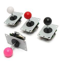 Game DIY Arcade Set Kits Replacement Parts USB Encoder to PC Joystick and Buttons Sale - Banggood.com