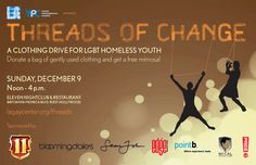 Threads of Change event flyer