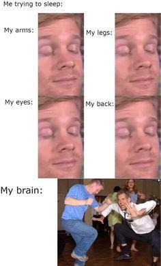 9gag Funny, Crazy Funny Memes, Really Funny Memes, Stupid Funny Memes, Funny Laugh, Funny Tweets, Funny Relatable Memes, Funny Stuff, Funny Sleep Memes