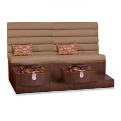 Kimberly Double Spa Pedicure Bench - SAVE UP to 50% at eBuyNails.com >> Best Shop - Best Deals