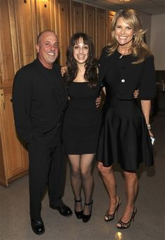 Billy Joel an Christy Brinkley an Alexis