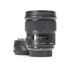 The #Sigma 24mm f1.4 DG HSM Art Lens (#Nikon Mount) is a professional-grade wide-angle Lens, perfect for Landscape and #PortraitPhotography. Very, very sharp Lens! Art Lens, Used Cameras, Camera Equipment, Wide Angle Lens, F1, Nikon, Portrait Photography, Conditioner, Landscape