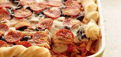 Sandra Lee Pizza Casserole -