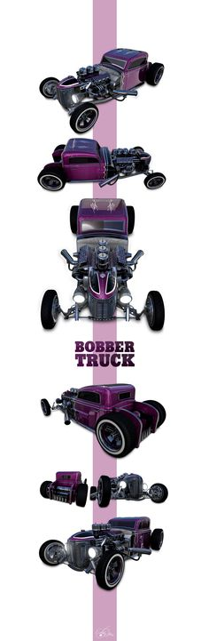 Ideas for my new street rod (More at pinterest.com/gary5mith/ideas-for-my-new-street-rod/)  - Bobber Truck