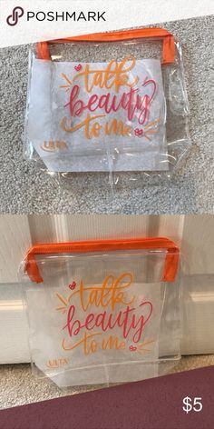 1c2f08ff57f8 15 Best Clear Cosmetic Bag images in 2019 | Cosmetic packaging ...