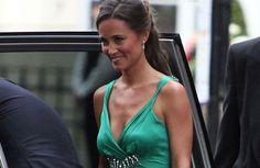 Emerald replica of Pippa's dress