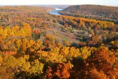 On a clear day, the view from Bowman's Hill Tower encompasses a minimum 14 mile radius of the Delaware River Valley.