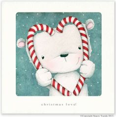 """christmas love"" ©Copyright Stacey Yacula 2013. www.staceyyacula.com"