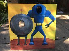 face-in-hole board, by KidSmart Carnivals