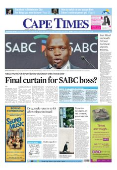 News making headlines: Final curtain for SABC boss?
