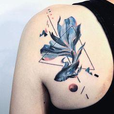 Artist: @hill_tattoo  Follow and support the Artist  __________ #inkstinctofficial #watercolortattoo #watercolor #instatattoo #tattooer #tattoo #tattooartist #tattoos #tattoocollection #tattooed #tattoomagazine #supportgoodtattooing #tattooer #tattooartwork #tatuaje #tattrx #inkedmag #equilattera #tattooaddicts #tattoolove #topclasstattooing #tattooaddicts #tatted #superbtattoos #inked #amazingink #bodyart #tatuaggio #tattoooftheday