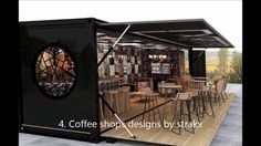 Shipping Container Coffee Shop | Cafe | Bar and Restaurant