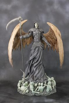 Completed Angel of Death Pics!!!!! - Statue Forum
