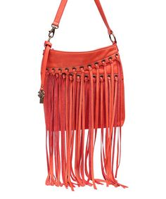 This Cayenne Loredo Leather Crossbody Bag by Lucky Brand is perfect! #zulilyfinds