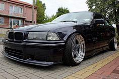 BMW e36 coupe on OZ AC Schnitzer type 1 wheels