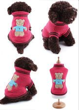 Cute Dog Puppy Warm Costumes Little Bear Clothes Pet Apparel Puppy Cat Sweater Y