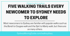 The best way to fully enjoy and appreciate everything Sydney has to offer is to go for a day hike on one of Sydney's many trails.