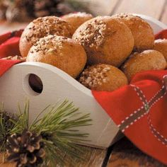 Rye Rolls Recipe -I found this recipe in an old community cookbook I received as a gift for my wedding in 1965! It is one of my favorite recipes and make it often for guests.—Awynne Thurstenson, Siloam Springs, Arkansas