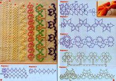 <無料編み図2>タティング編み図集 | Mazourka-Iris もっと見る