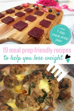These healthy meal prep recipes will make weight loss that much easier + free downloadable meal prep plan