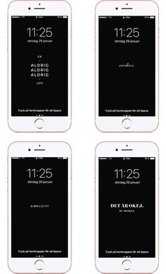 4 mobilbakgrunder / mobile wallpapers / iphone backgrounds / samsung / cellphone / freebies / freebie friday